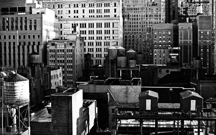 N.Y view from my hotel room